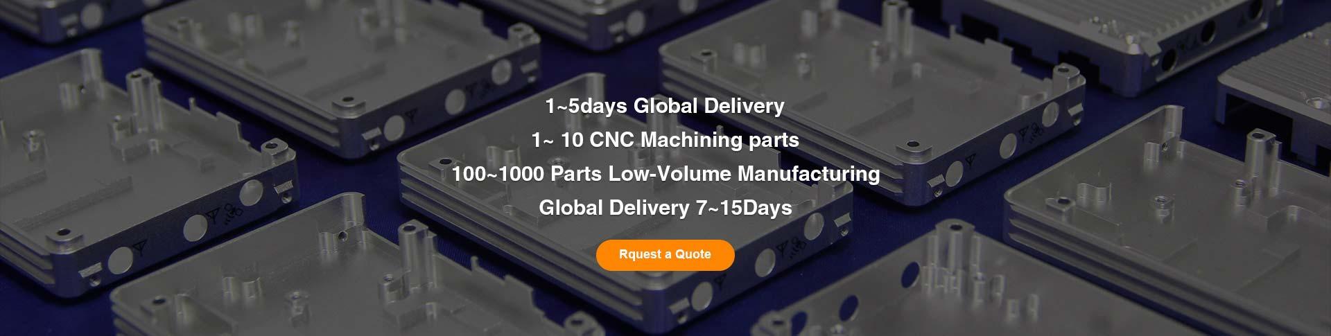 1~ 10 CNC Machining parts