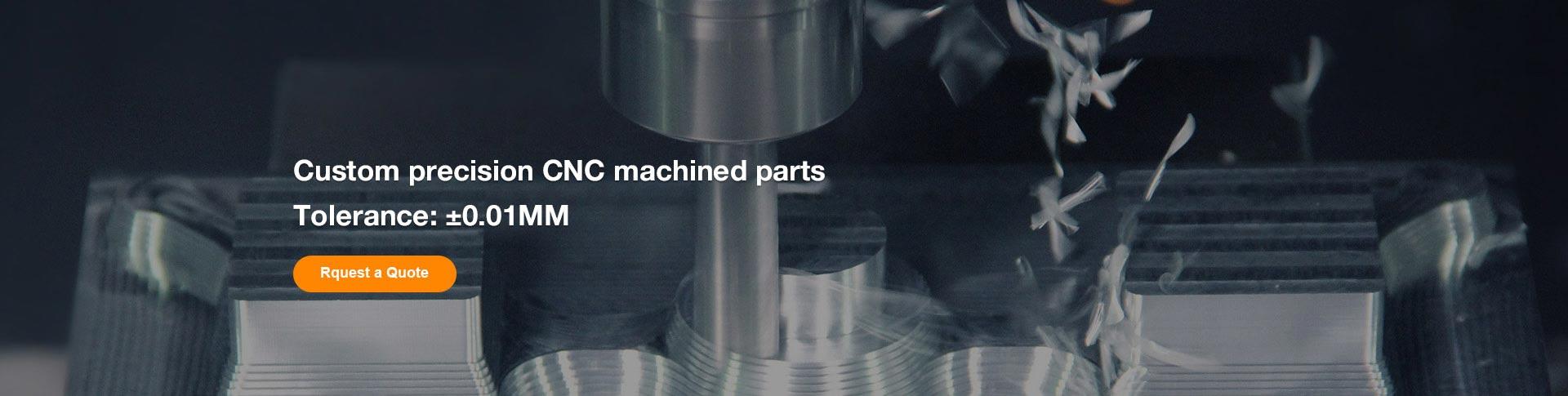 Custom precision CNC machined parts, Tolerance:±0.01MM