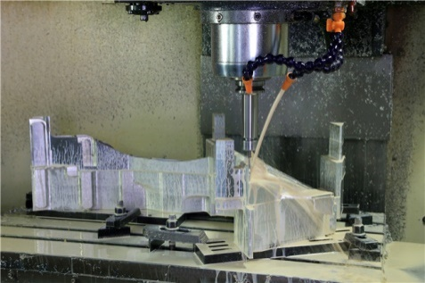 Which processes are suitable for machining precision parts?